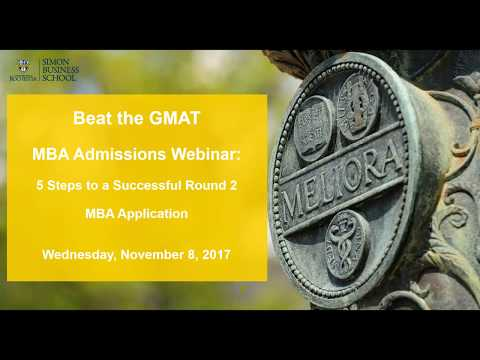 5 Steps to a Successful Round 2 MBA Application