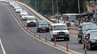 Shamshabad India  City pictures : Shri. Narendra Modi's PM Convoy in Hyderabad | Shamshabad Airport | 100 cars Live