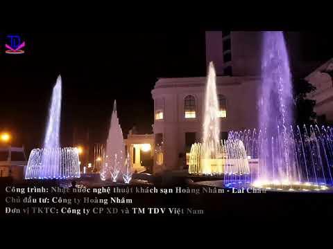 Nhạc Nước Nghệ Thuật Tàu Anh Qua Núi - Khách sạn Hoàng Nhâm