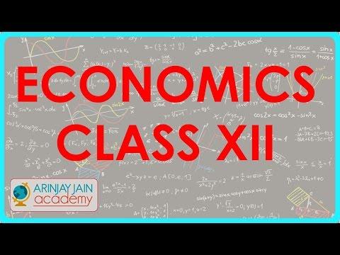 913. Individuelle und Market Lieferumfang - Economics Class XII