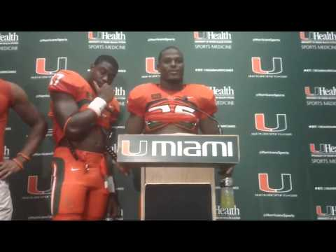 Tyriq McCord Interview 9/7/2013 video.