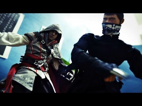 Assassin Creed Stop Motion - Assassin VS Ninja