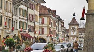 Murten Switzerland  city images : Strolling in Murten (Switzerland) on a quiet Sunday, Dec. 2015