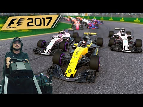 "F1 2017 Гран-при Австралии - ""розовая сила"" - руль Fanatec ClubSport Formula Black"