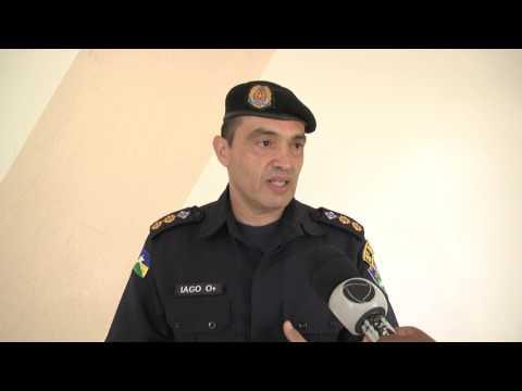 PM realiza solenidade de passagem de comando do 8º batalhão em Jaru