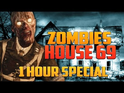 ZOMBIE HOUSE 69 - 1 HOUR SPECIAL ★ Call of Duty Zombies Mod (Zombie Games)