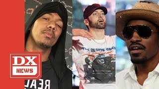"Eminem Raps ""Hieroglyphics"" Lyrics To André 3000 Instead Of Responding To Nick Cannon"