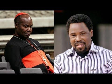 Cardinal Okojie, Balarabe Musa react, appeal to TB Joshua not relocate to Israel