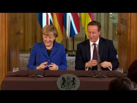 Angela Merkel Queen Of Europe - Not Cameron's Auntie