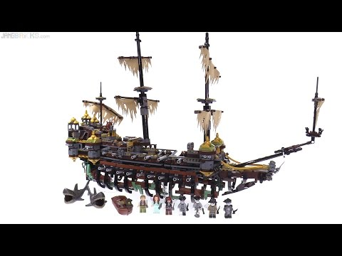 LEGO Pirates of the Caribbean: Silent Mary review! (Dead Men Tell No Tales ship) 71042