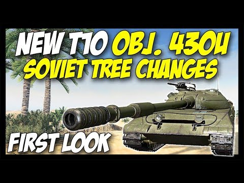 ► Object 430U - New Tier 10 + Soviet Medium Tree Changes! - World of Tanks Future News