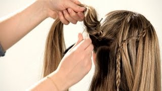 How to Do a Waterfall Braid | Braid Tutorials