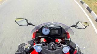 6. Top speed test on hyosung GT250r