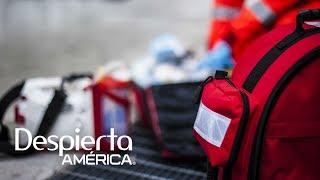 El Dr. Juan Rivera nos dio las instrucciones adecuadas para saber reaccionar ante diversas situaciones como desmayos, dolores de cabeza y presión arterial alta durante un vuelo.SUSCRÍBETEhttp://bit.ly/20L91KL Síguenos enTwitterhttps://twitter.com/DespiertaAmericFacebookhttp://facebook.com/despiertamericaVisita el sitio oficialhttp://www.univision.com/shows/despierta-america/inicio En Despierta América encontrarás, tips de belleza, recetas, invitados famosos, entrevistas exclusivas , noticias, rutinas para ponerte en forma y  mucha diversión. Karla Martínez, Alan Tacher, Satcha Pretto, Johnny Lozada, Ana Patricia y Francisca te esperan todos los días de Lunes a Viernes 7AM/6C por Univision