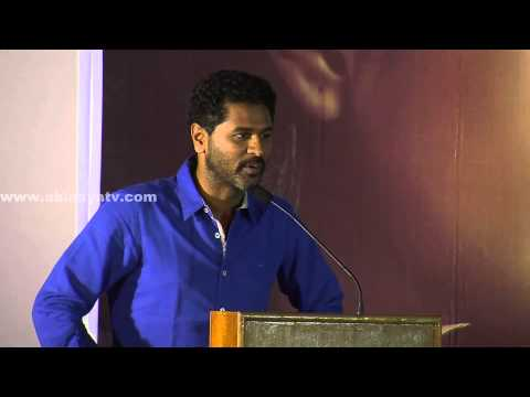 Prabhu Deva speech @ Kalavaadiya Pozhuthugal  Press Meet