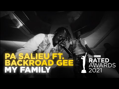Pa Salieu & Backroad Gee Perform Lively Rendition Of 'My Family' | Rated Awards 2021