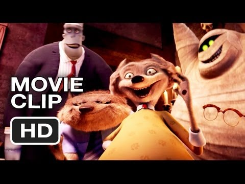 Hotel Transylvania Movie CLIP - Very Loud (2012) - Adam Sandler Comedy HD Video
