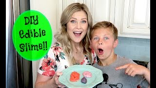 Hello everyone!! Gage and I had so much fun making DIY Edible candy slime!! Today we tried Starburts, Hi-Chews and Chewy Now&Laters!! Let us know if you think we should tryout different candy!:) Thank you so much for watching!!