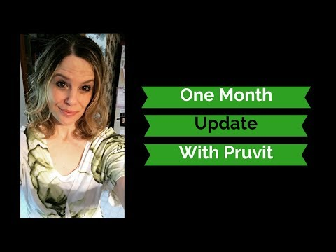One Month Update With Pruvit