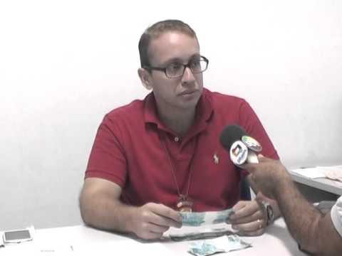 Delegado Murilo Fala das Notas Falsas de R$ 100 Reais em Acailandia
