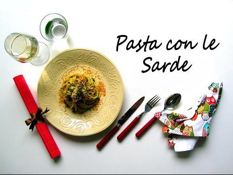 pasta con le sarde-ricetta siciliana