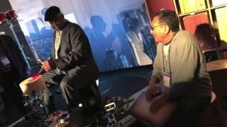 Alex Acuña and Bernard Purdie Cajon Jam at NAMM 2017