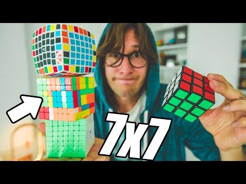 SFIDA: Risolvere il cubo di rubik 7x7x7 in meno di 17 minuti (difficile)