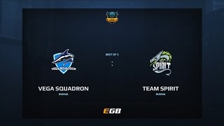 Vega Squadron vs Team Spirit, Game 2, Dota Summit 7, EU Pre-Qualifier