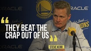Warriors' Steve Kerr on his teams loss to the Suns, Kevin Durant injury