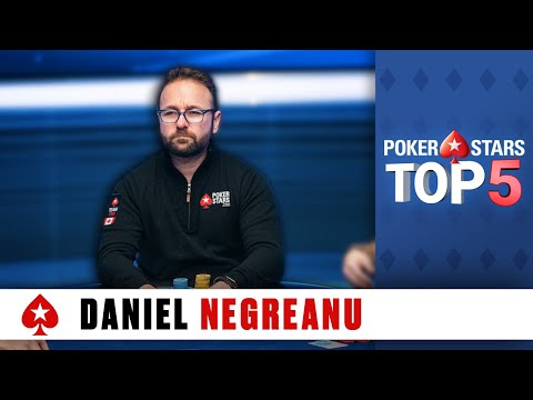 Top 5 Poker Moments - Daniel Negreanu | PokerStars