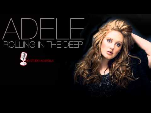 Adele – Rolling In The Deep (Studio Acapella) (HD) + Download