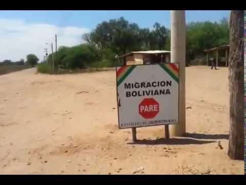 Oficina de Migraciones Ibibobo - Bolivia (cerca de la frontera con Paraguay)