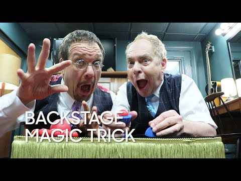 Backstage Magic Trick: Penn & Teller Return!