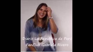 Gaby Rivero en Diario La Republica de Peru