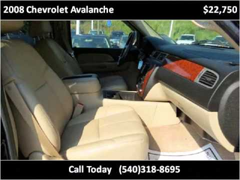 2008 Chevrolet Avalanche Used Cars Stafford VA
