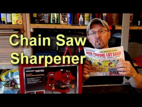 Harbor Freight Chain Saw Sharpener