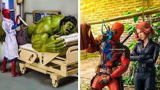 Video New 2018 Hilariously Superhero - Secret Life Of Marvel's Avengers MP3, 3GP, MP4, WEBM, AVI, FLV Juli 2018