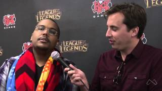 OnGamers' Travis interviews Sky about the upcoming Smash Bros and the LoL playoffs