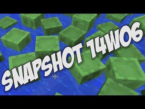Minecraft 1.8: Snapshot 14w06 - Notch Apple Achievement, NEW Mob A.I.& Better Spectator Mode