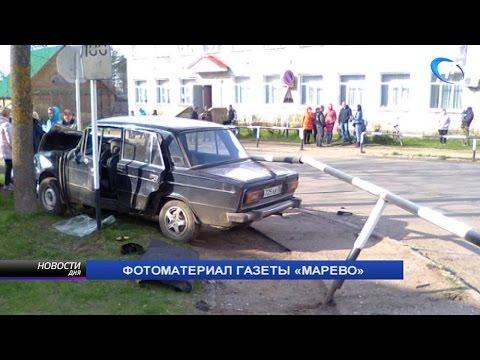 Пьяный водитель, сбивший насмерть женщину на тротуаре в Марево, арестован на 10 суток