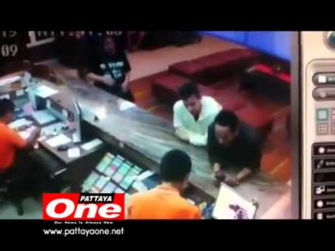 Supachai Corrupt Police extort cash from Japanese Tourist at North Pattaya Hotel Banglamung