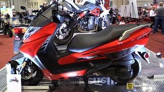 3. 2017 Benelli Zafferano 250 EFI Scooter - Walkaround - 2016 AIMExpo Orlando