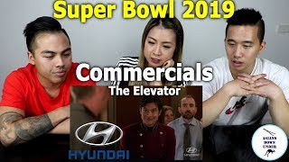 The Elevator | 2019 Super Bowl Commercial | Hyundai | Asians Down Under reaction