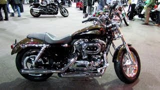 9. 2013 Harley-Davidson XL1200C Sportster - 110th Anniversary Edition - 2013 Quebec Motorcycle Show