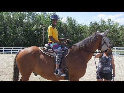 King Street Center Kids Learn to Ride Horses [544]