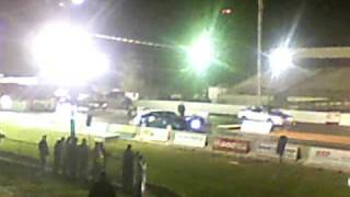Drag Racing On Haloween  Audi A4 Vs Subaru Svx