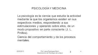 Umh4313 2012-13 Lección 001. Introducción A La Psicología De La Salud