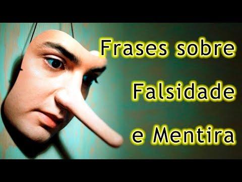 Frases curtas - Frases Sobre Mentira e Falsidade