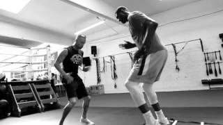 Video: NBA Star Roy Hibbert Training Session w/ Glenn Holmes @ Box 'N Burn, Santa Monica, CA