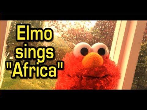 Video Elmo sings Toto -